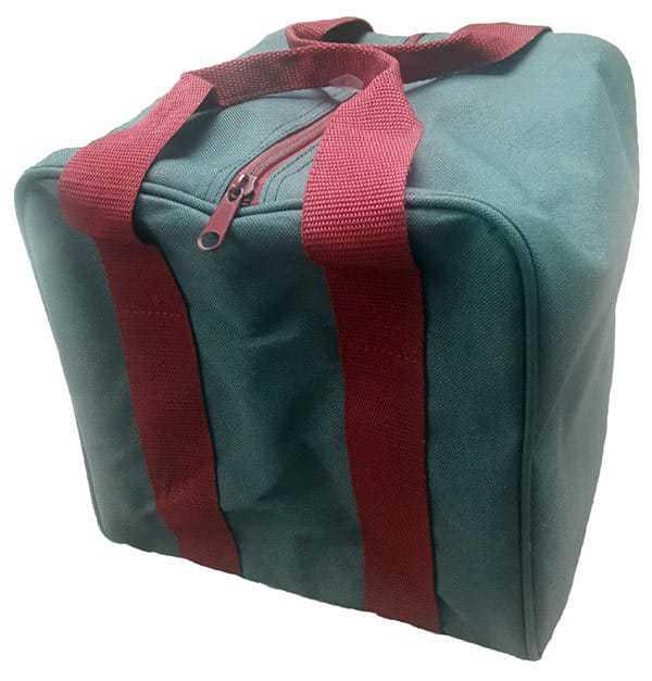 bocce-bag-dark-green-red-handles
