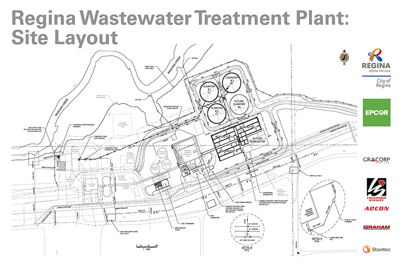 Regina Wastewater Treatment Plant Project