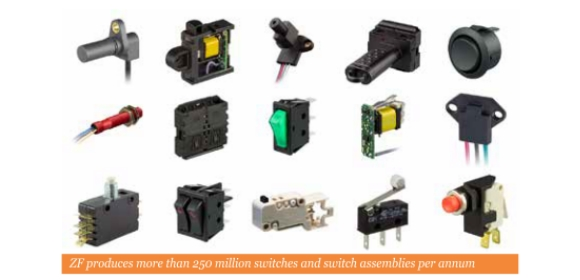 harting limited electromechanical switches