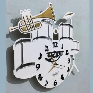 Wall clock music theme