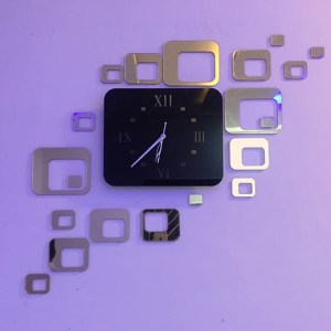 Gold theme wall clock online