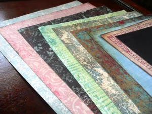 Scrapbooking Paper – Great Background for Jewelry Photographs