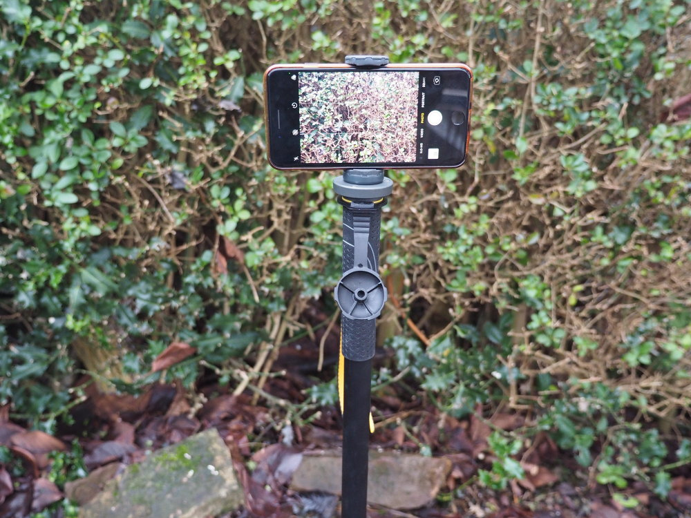 VEO 2S AM-264TR Monopod with Tri-Feet and Smartphone Connector