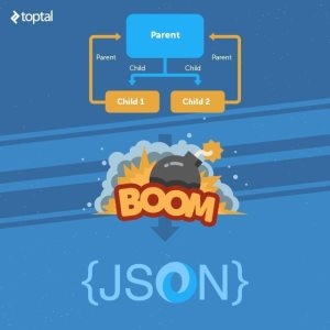 Toptal Engineering blog JSON illustration