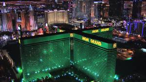 MGM Grand Las Vegas exterior photo from height
