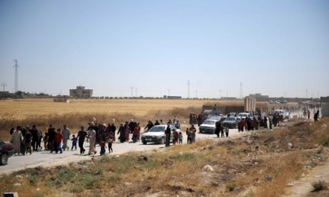 Residents flee ISIS advances into Tal Afar