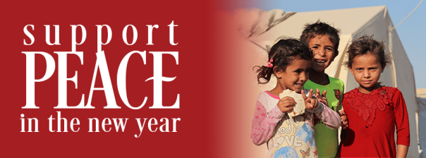 Support peace in the New Year