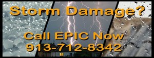Storm Damage - Call EPIC today