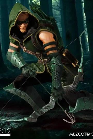 dc-comics-mezco-green-arrow