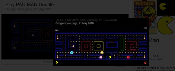 Google's hidden games