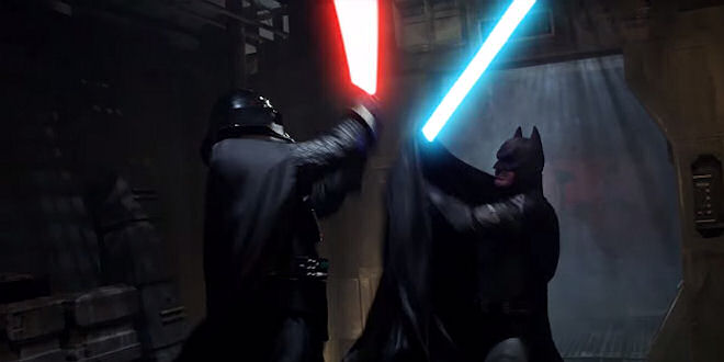 #Batman Vs Darth Vader - Super Hero Showdown Video