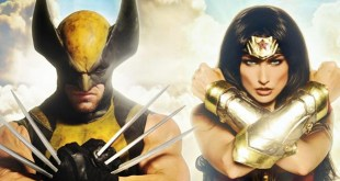 WONDER WOMAN vs WOLVERINE Bat in the Sun