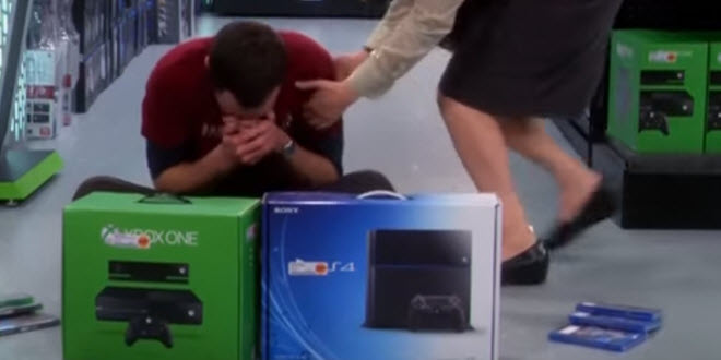 When you can't choose between Xbox One and PS4