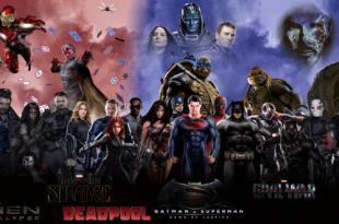 2016 Comic Book Movies Supercut
