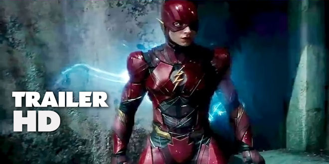 Hot New #JusticeLeague Official Movie Trailer - Warner Bros