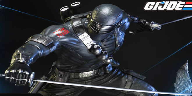 #G.I.Joe - Snake Eyes Statue by Prime 1 Studio