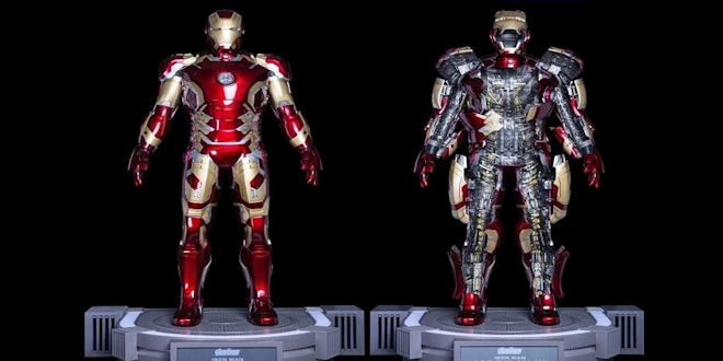 Life Size Real Iron Man Suit - Mark 43 for $365,000
