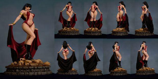 Vampirella Resin Statue