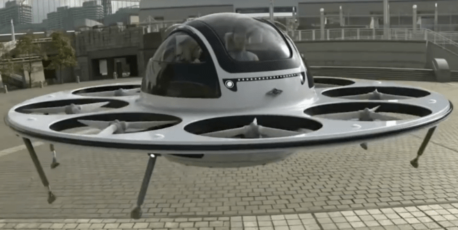 Welcome to the age of the Jetsons Identified Flying Object #IFO