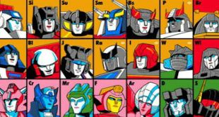 Transformers Periodic Table