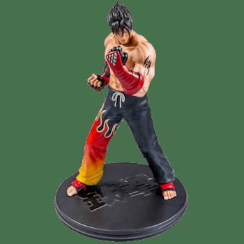Tekken 3 jin statue
