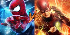 The Flash Vs Spider-man