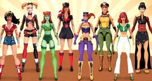 DC DC Bombshells Action Figures