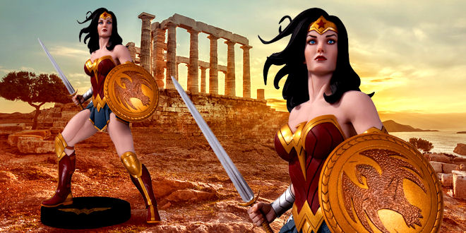 DC Designer Series Wonder Woman Statue 1/6 by Frank Cho