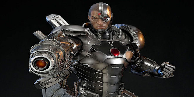 Justice League Cyborg New 52 Statue by Sideshow Collectibles