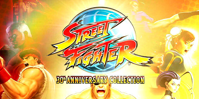 Street Fighter 30th Anniversary Collection for Nintendo, PS4 , and Xbox