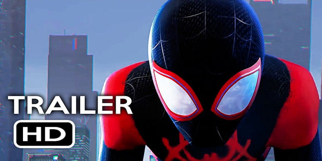 New Spider-man Animated Series Trailer - Into the Spider-verse - Sony
