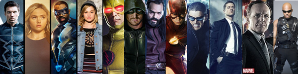 Best Superhero Comic Book TV Shows