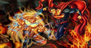 Goku vs Superman Stop Frame Animation
