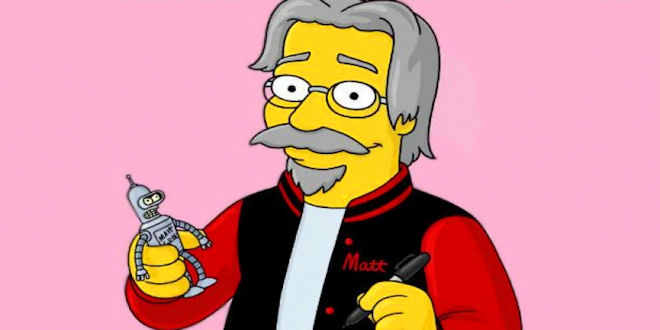 Is Simpsons Matt Groening a Time Traveler ?? Concrete evidence....