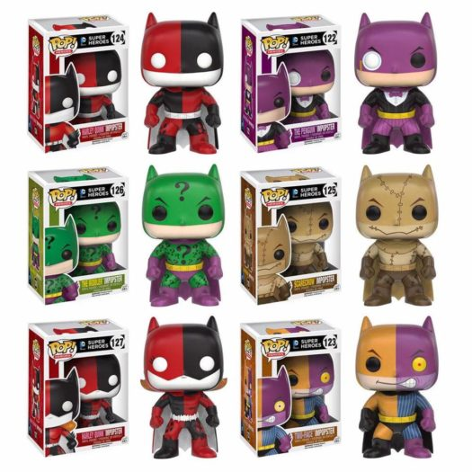 Funko Pop Vinyl Batman Figures New Toys Full Range