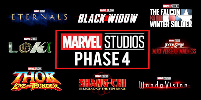 Marvel Studios Phase 4 - Kevin Feige Movies TV Series - Comic Con 2019