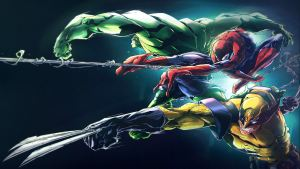 Marvel Wallpaper Art