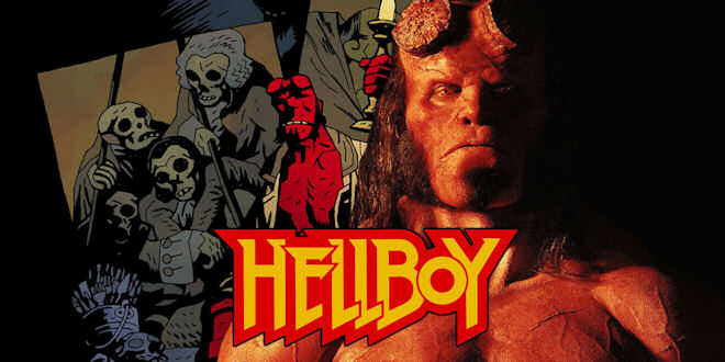 Hellboy 2019 Film - 8 x Official Movie Posters Artwork - epicheroes Exclusive