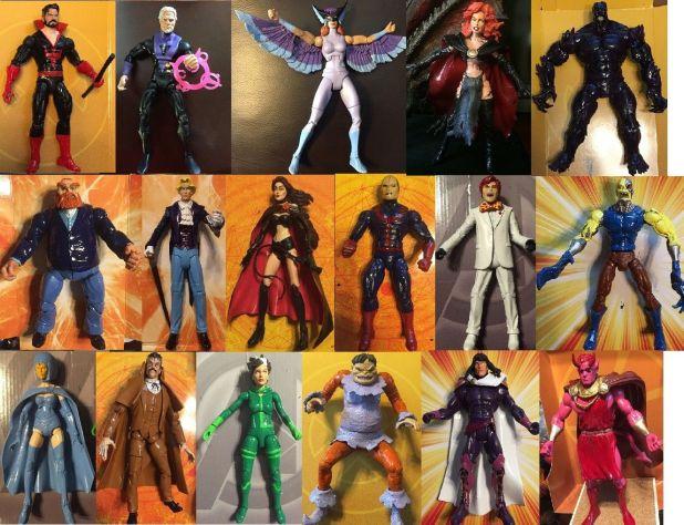custom marvel legends ebay