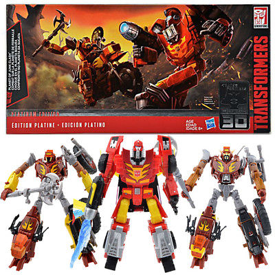Transformers Platinum Edition Planet