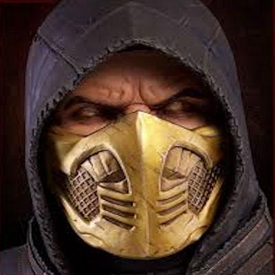 Mortal Kombat X Scorpion Bust (1:1) - PCS Collectibles