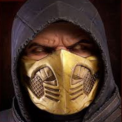 Mortal Kombat X Scorpion Bust (1:1) - PCS Collectibles