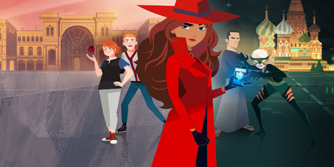 Carmen Sandiego on Netflix: