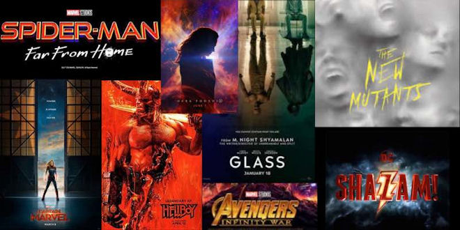 Best Superhero Movies 2019 - Film Select Trailers - 21 mins