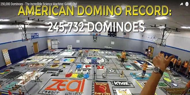 Dominoes Science Machine