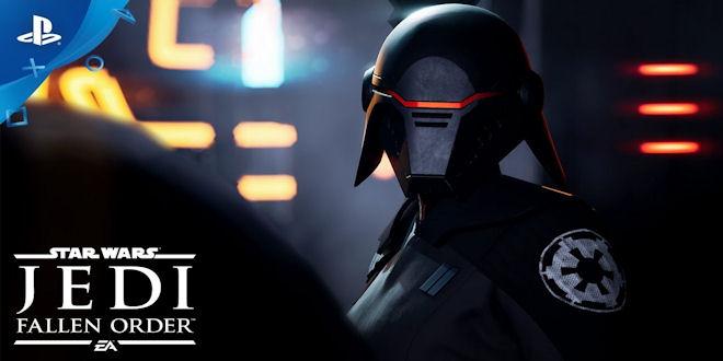 Star Wars Jedi Fallen Order - Official First Reveal Trailer - PS4 Game News