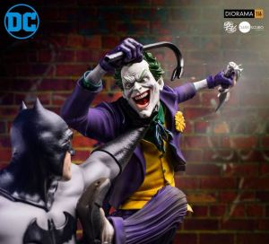 Iron Studios DC Comics Statues Batman vs Joker