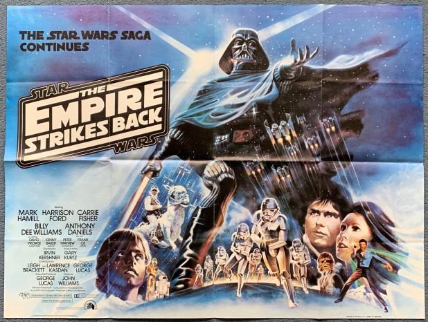 Empire Strikes Back Movie Quad