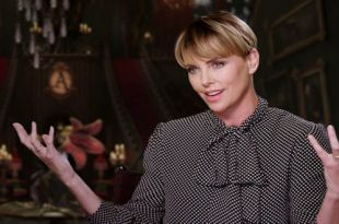 Addams Family - Celebrity Interview Charlize Theron & Christina Aguilera