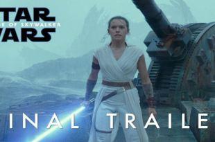 Star Wars 9 : The Rise Of Skywalker Final Trailer - Daisy Ridley - Disney